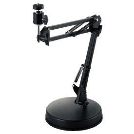 エレコム ELECOM WEBカメラ用フレキシブルアーム型スタンド GoPro用アダプタ付属 ブラック UCAM-DSZARMBK