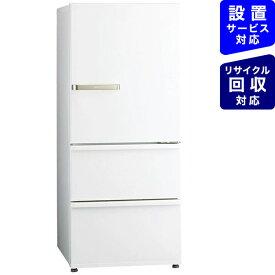 AQUA アクア 冷蔵庫 ウォームホワイト AQR-27K-W [3ドア /右開きタイプ /272L]《基本設置料金セット》