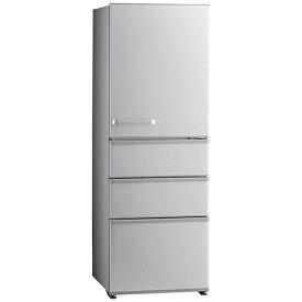 AQUA アクア 冷蔵庫 ブライトシルバー AQR-36K-S [4ドア /右開きタイプ /355L]《基本設置料金セット》