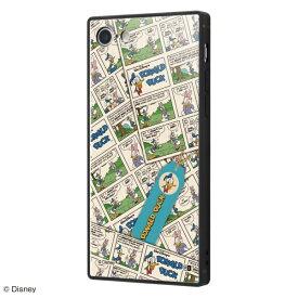 イングレム Ingrem iPhone SE(第2世代)/iPhone 8/iPhone 7 ケース KAKU トリプルハイブリッド 『ドナルドダック/comic』 IQ-DP7K3B/DD006