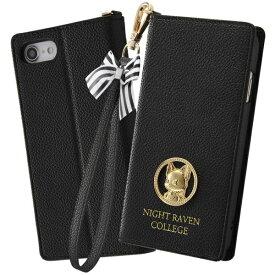 イングレム Ingrem iPhone SE(第2世代) / iPhone 8 / iPhone 7 / iPhone 6s / iPhone 6 手帳型レザーケース Collet ストラップ付 『ツイステッドワンダーランド/グリム』 IN-DP25LC16/DGB1