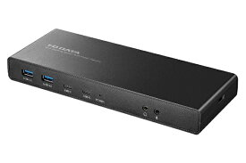I-O DATA アイ・オー・データ [USB-C オス→メス HDMIx2 / DisplayPortx2 / LAN /φ3.5mmx2 /USB-Ax4 / USB-Cx2] USB PD対応 60W ドッキングステーション US3C-DS1/PD [USB Power Delivery対応]