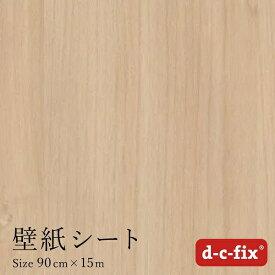 菊池襖紙工場 KIKUCHI FUSUMA MANUFACTURING 粘着シート(強粘着)D-C-FIX90CM巾/200-5417 15M巻 木目カエデ