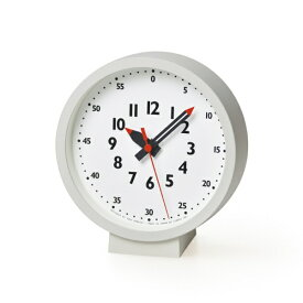 タカタレムノス Lemnos fun pun clock for table ホワイト YD18-04