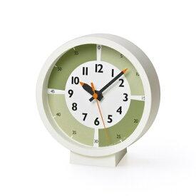タカタレムノス Lemnos fun pun clock with color! for table グリーン YD18-05GN