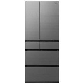 パナソニック Panasonic 冷蔵庫 WPXタイプ ミスティスチールグレー NR-F657WPX-H [6ドア /観音開きタイプ /650L]《基本設置料金セット》