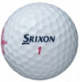ダンロップ スリクソン DUNLOP SRIXON レディース ゴルフボール スリクソン SRIXON SOFT FEEL LADY《1スリーブ(3球)》/ホワイト》