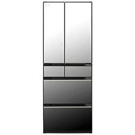 日立 HITACHI 冷蔵庫 HXタイプ クリスタルミラー R-HX60R-X [6ドア /観音開きタイプ /602L]《基本設置料金セット》