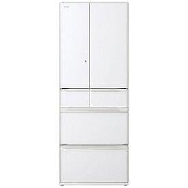 日立 HITACHI 冷蔵庫 クリスタルホワイト R-HW60R-XW [6ドア /観音開きタイプ /602L]《基本設置料金セット》