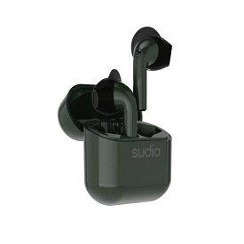 SUDIO スーディオ フルワイヤレスイヤホン グリーン NIO-GR [リモコン・マイク対応 /ワイヤレス(左右分離) /Bluetooth]