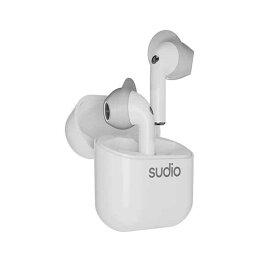 SUDIO スーディオ フルワイヤレスイヤホン ホワイト NIO-WH [リモコン・マイク対応 /ワイヤレス(左右分離) /Bluetooth]【rb_cpn】