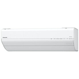 パナソニック Panasonic CS-GX281D-W エアコン 2021年 Eolia(エオリア)GXシリーズ クリスタルホワイト [おもに10畳用 /100V]【point_rb】