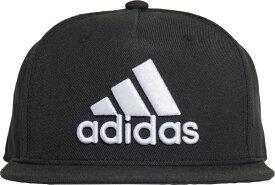 アディダス adidas 男女兼用 スナップバックキャップ SNAPBACK LOGO CAP(OSFXサイズ:57〜60cm/ブラック) 25641 GM4984