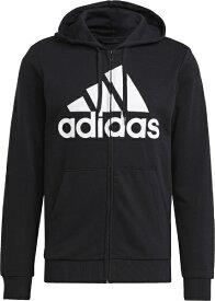 アディダス adidas メンズ エッセンシャルズ フレンチテリー ビッグロゴ トラックジャケット(J/Mサイズ/ブラック) 31216 GK9044