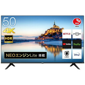 ハイセンス Hisense 液晶テレビ 50A6G [50V型 /4K対応 /BS・CS 4Kチューナー内蔵 /YouTube対応][テレビ 50型 50インチ]