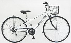 アサヒサイクル Asahi Cycle 27型 自転車 ビズストリート(マットホワイト/外装6段変速) SNI76S【2021年モデル】【組立商品につき返品不可】 【代金引換配送不可】