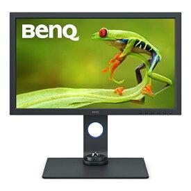 BenQ ベンキュー USB-C接続 PCモニター ダークグレイ SW271C [27型 /4K(3840×2160) /ワイド]