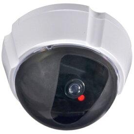 オーム電機 OHM ELECTRIC ダミーカメラ UFO 防犯ステッカー付き 24時間点滅 OSE-P-DD2