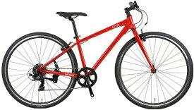 NESTO ネスト 700×32C クロスバイク バカンゼ 2 VACANZE 2 440mm(レッド/7段変速《適応身長:160cm〜175cm》)NE-21-012 【2021年モデル】【組立商品につき返品不可】 【代金引換配送不可】