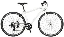 NESTO ネスト 700×32C クロスバイク バカンゼ 2 VACANZE 2 380mm(ホワイト/7段変速《適応身長:145cm〜162cm》)NE-21-012 【2021年モデル】【組立商品につき返品不可】 【代金引換配送不可】