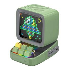 DIVOOM ディブーム ブルートゥーススピーカー Ditoo Plus グリーン DITOO-PLUS GREEN [Bluetooth対応]