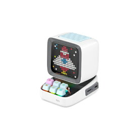 DIVOOM ディブーム ブルートゥーススピーカー Ditoo Plus ホワイト DITOO-PLUS WHITE [Bluetooth対応]