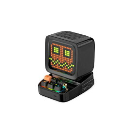 DIVOOM ディブーム ブルートゥーススピーカー Ditoo Plus ブラック DITOO-PLUS BLACK [Bluetooth対応]