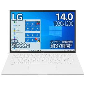 LG 14Z90P-KA54J ノートパソコン gram スノーホワイト [14.0型 /intel Core i5 /SSD:512GB /メモリ:8GB /2021年2月モデル]
