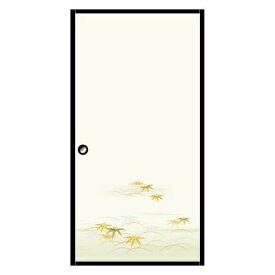 菊池襖紙工場 KIKUCHI FUSUMA MANUFACTURING 粘着シールふすま紙 1枚入 笹竹 巾95CM×長さ185CM