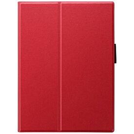 MSソリューションズ 10.9インチ iPad Air(第4世代)、11インチ iPad Pro(第1世代)用 薄型PUレザーフラップケース PRIME レッド LP-ITAM20PLARD