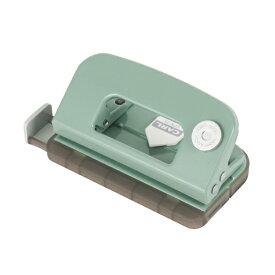 カール事務器 CARL デコレパンチ ライトグリーン DPN-35-U