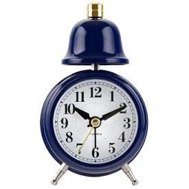 保土ヶ谷電子販売 Hodogaya denshi アナログ目覚まし時計 フォルミア ネイビー HT-A014T-NV [アナログ]