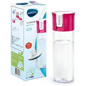 ブリタ BRITA ボトル型浄水器 fill&go(フィルアンドゴー) ピンク KBVICP12
