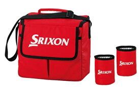 ダンロップ スリクソン DUNLOP SRIXON クーラーバッグ&ドリンクホルダー SRIXON(500ml×6本用/レッド)GGF-B5016