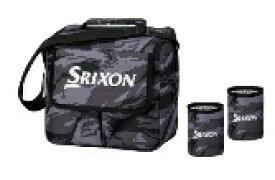 ダンロップ スリクソン DUNLOP SRIXON クーラーバッグ&ドリンクホルダー SRIXON(500ml×6本用/グレー)GGF-B5016