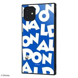 イングレム Ingrem iPhone 11 耐衝撃ハイブリッドケース KAKU 『ドナルドダック/I AM』 イングレム IQ-DP21K3TB/DD003