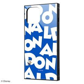 イングレム Ingrem iPhone 12 Pro Max 耐衝撃ハイブリッドケース KAKU 『ドナルドダック/I AM』 IQ-DP28K3TB/DD003