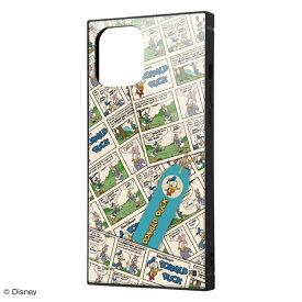 イングレム Ingrem iPhone 12 Pro Max 耐衝撃ハイブリッドケース KAKU 『ドナルドダック/comic』 IQ-DP28K3TB/DD006