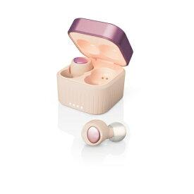 M-SOUNDS エムサウンズ フルワイヤレスイヤホン Cream Pink MS-TW22PG [ワイヤレス(左右分離) /Bluetooth]