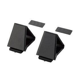エレコム ELECOM ノートパソコンスタンド[10.1〜17.3インチインチ] 折りたたみ 装着式/ミニ ブラック PCA-LTSFMBK
