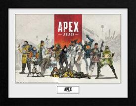 【2021年5月】 インフォレンズ Apex Legends フレーム入りポスター レジェンズ PFC3644