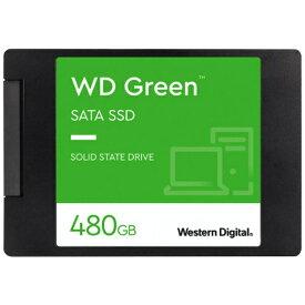 WESTERN DIGITAL ウェスタン デジタル WDS480G2G0A 内蔵SSD SATA接続 WD GREENシリーズ [2.5インチ /480GB]