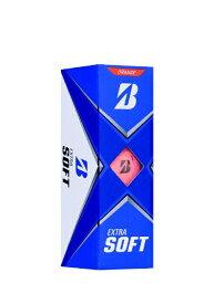 ブリヂストン BRIDGESTONE ゴルフボール  21エクストラソフト《1スリーブ(3球)/オレンジ》
