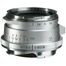 フォクトレンダー Voigtlander カメラレンズ ULTRON Vintage Line 35mm F2 Aspherical Type II VM シルバー [ライカM /単焦点レンズ]