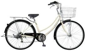 MARCLE 26型 自転車 リブレットホーム266-C(ベージュ/外装6段変速《適応身長:141cm〜》) MC-21-011【2021年モデル】【組立商品につき返品不可】 【代金引換配送不可】