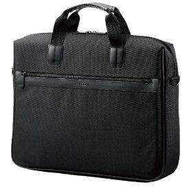 エレコム ELECOM ノートパソコン対応[〜15.6インチ] ビジネスキャリングバッグ 保護タイプ ブラック BM-BSGD15BK
