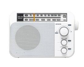 aiwa アイワ ホームラジオ ホワイト AR-A10W [AM/FM /ワイドFM対応]