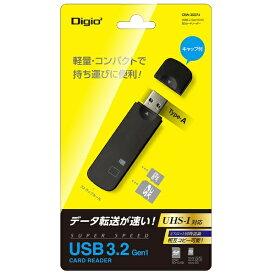 ナカバヤシ Nakabayashi USB3.2Gen1(3.0) SDカードリーダー ブラック [USB3.1]