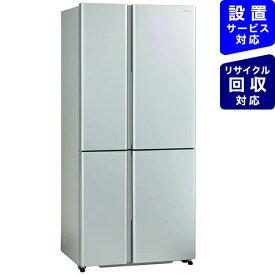 AQUA アクア 冷蔵庫 サテンシルバー AQR-TZ51K-S [4ドア /観音開きタイプ /512L]《基本設置料金セット》