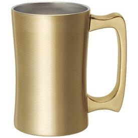 ドウシシャ DOSHISHA DSSJ420GD 飲みごろジョッキ 420ml ゴールド